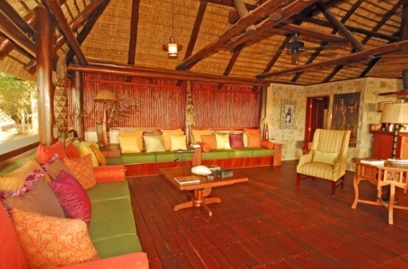 Lugenda Wilderness Camp, Niassa, Mozambique, salon