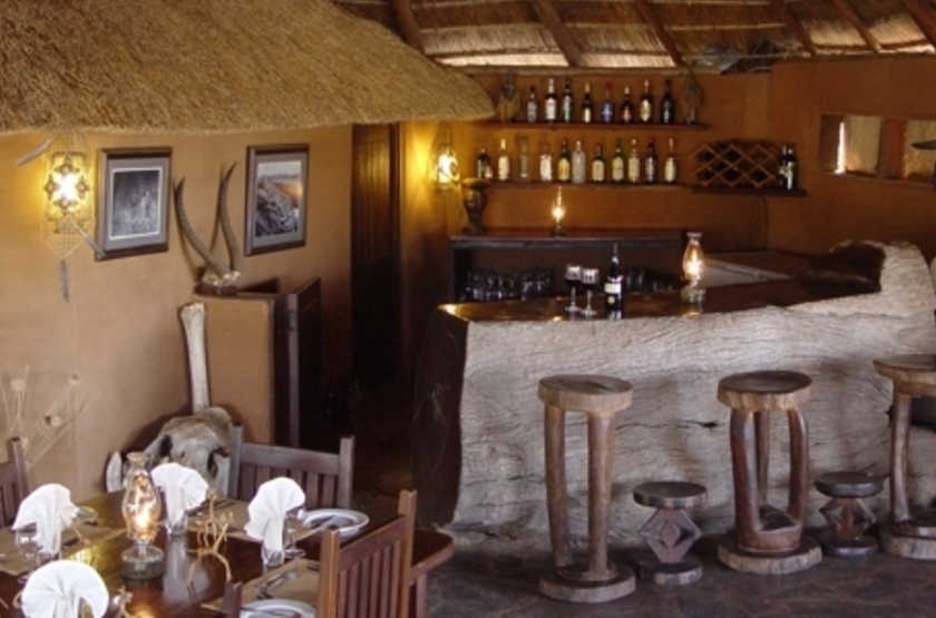 Kaingo Camp, South Luangwa, Zambie, bar