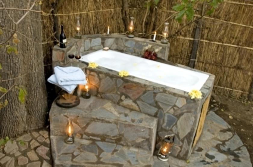 Kaingo Camp, South Luangwa, Zambie, salle de bains