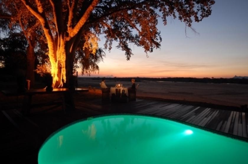 Lugenda Wilderness Camp, Niassa, Mozambique, piscine