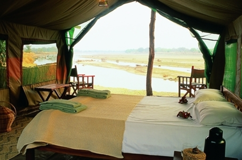 Kakuli Bush Camp, South Luangwa Valley, Zambie, chambre