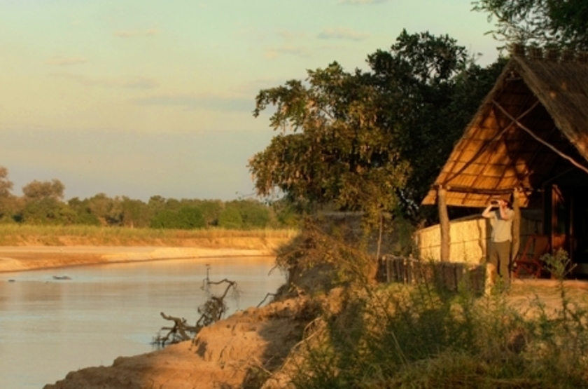 Kakuli Bush Camp, South Luangwa Valley, Zambie, tente