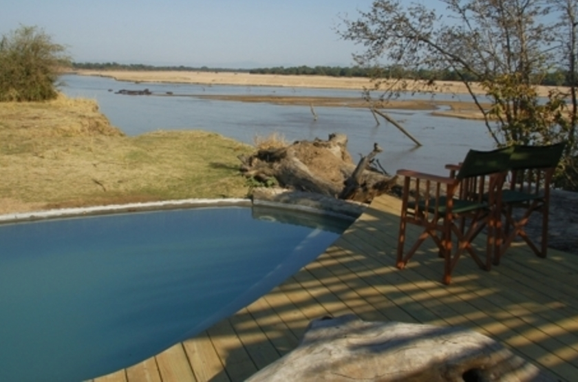 Kalamu Bush Camp, South Luangwa, Zambie, piscine