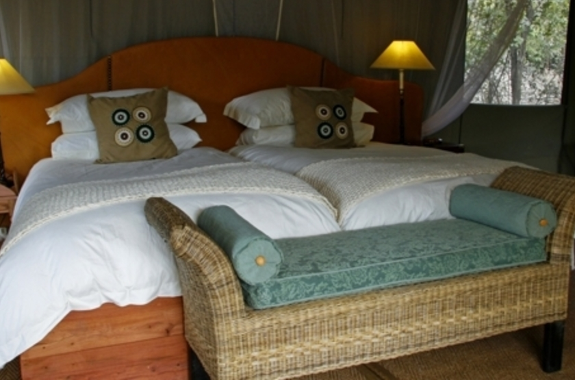 Kalamu Bush Camp, South Luangwa, Zambie, chambre