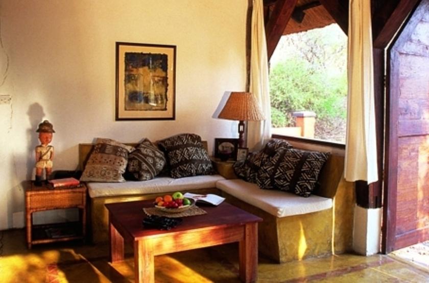 Kapani Lodge, South Luangwa Valley, Zambie, salon
