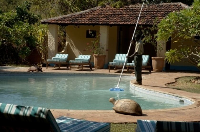Kapani Lodge, South Luangwa Valley, Zambie, piscine