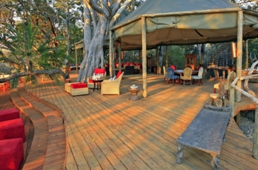 Kapinga Camp, Kafue, Zambie, main camp