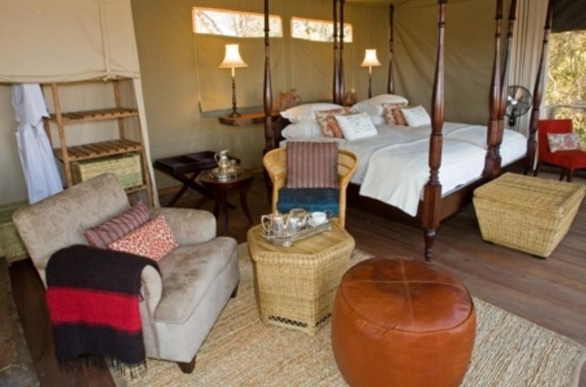 Kapinga Camp, Kafue, Zambie, chambre