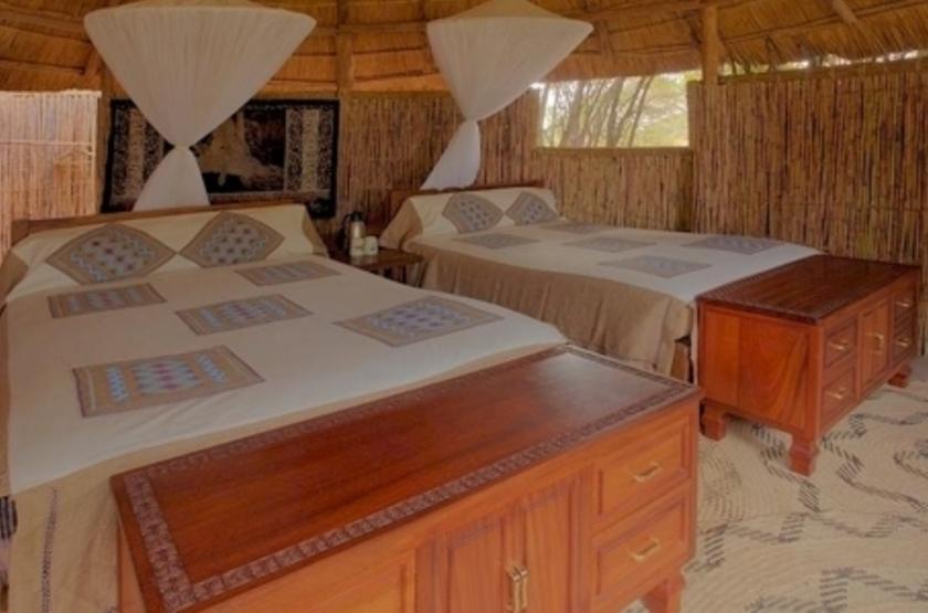 Kuyenda Bushcam, South Luangwa, Zambie, chambre