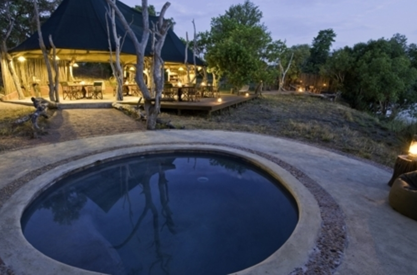 Lufupa Tented Camp, Kafue, Zambie, piscine