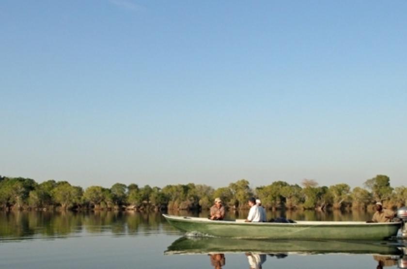 Lufupa Tented Camp, Kafue, Zambie, safari en bateau