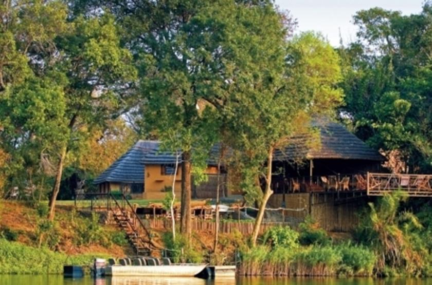 Lunga River Lodge, Kafue, Zambie, extérieur