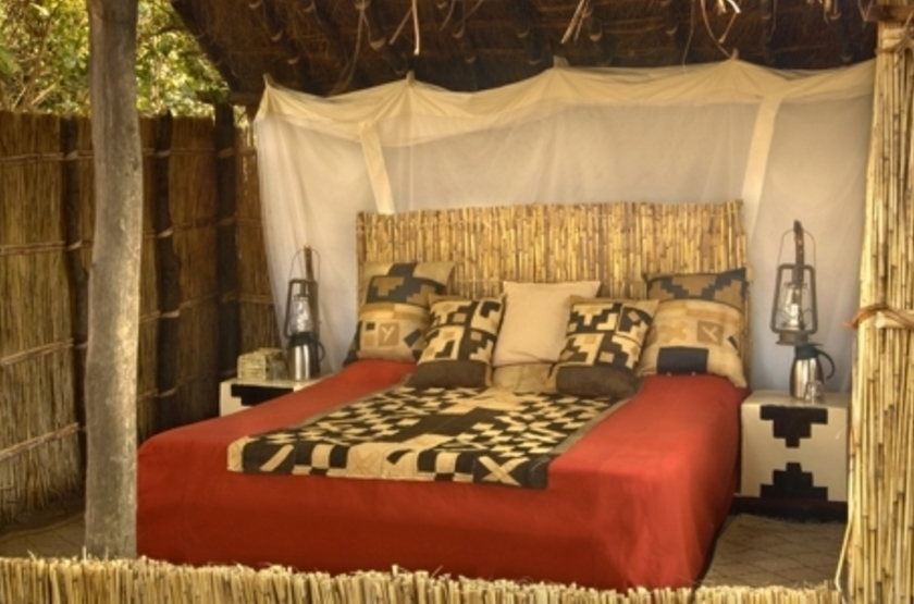 Mwaleshi Camp, North Luangwa, Zambie, chambre