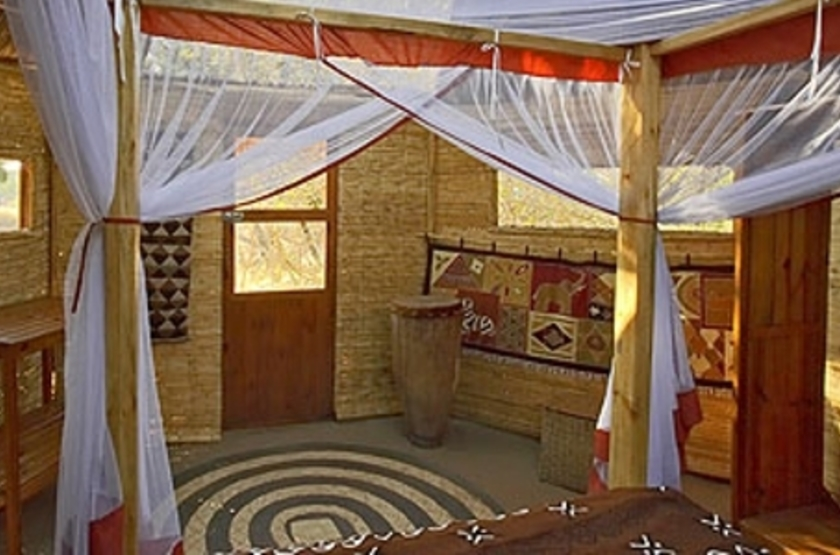 Mwamba Camp, South Luangwa, Zambie, chambre