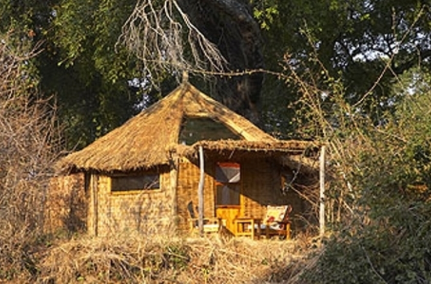 Mwamba Camp, South Luangwa, Zambie, chalet