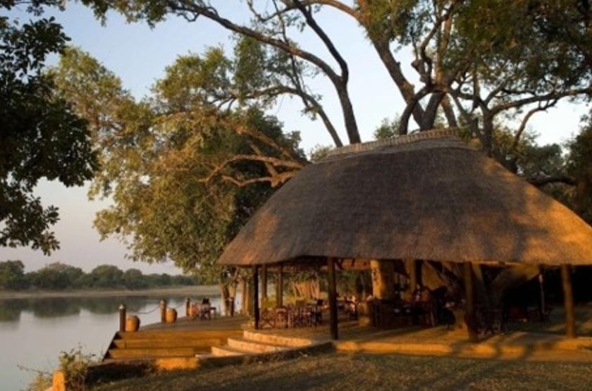 Nkwali Camp, South Luangwa, Zambie, extérieur