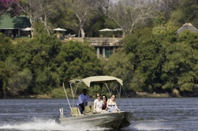 River Club, Livingstone, Zambie, emplacement
