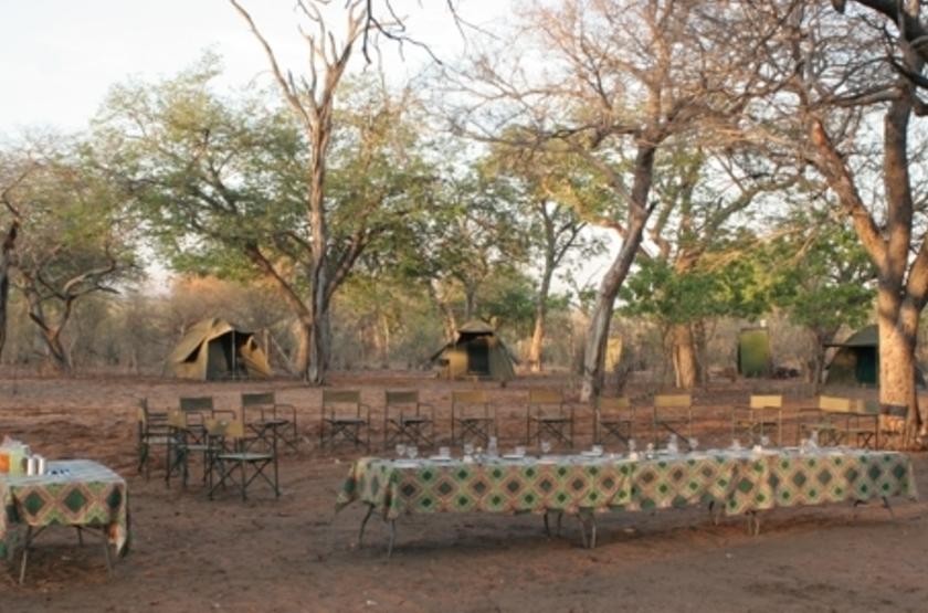 Safari privé Kazuma Trails, Zimbabwe, déjeuner