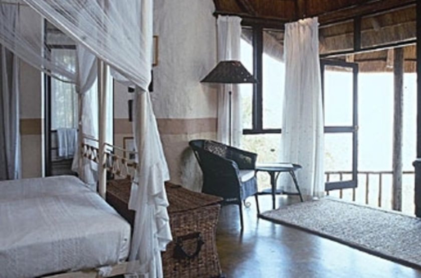 Sanyati Lodge, Matusadona, Zimbabwe, chambre