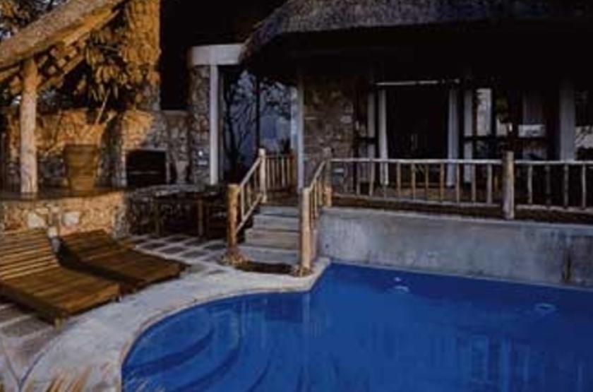 Sanyati Lodge, Matusadona, Zimbabwe, piscine