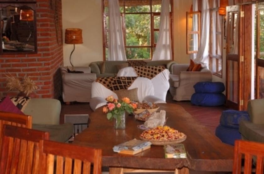 Ngorongoro Farm House, Karatu, Tanzanie, restaurant