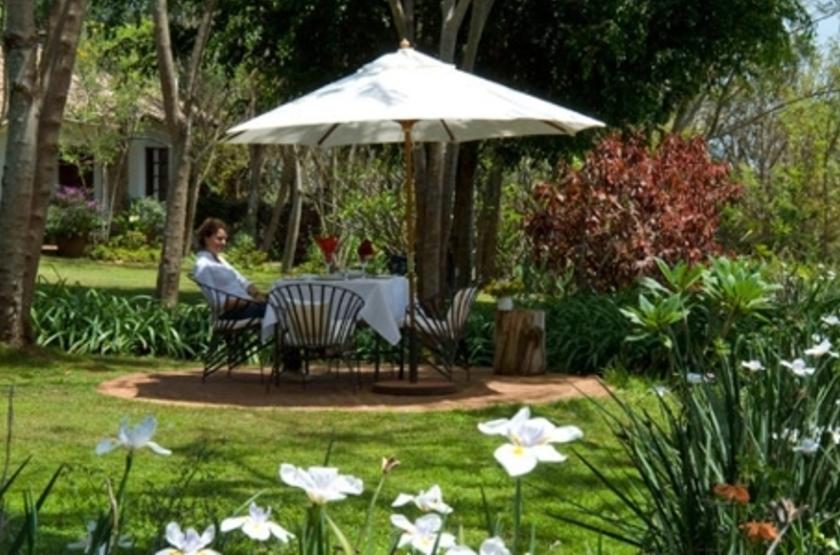 Plantation Lodge, Ngorongoro, Tanzanie, jardins