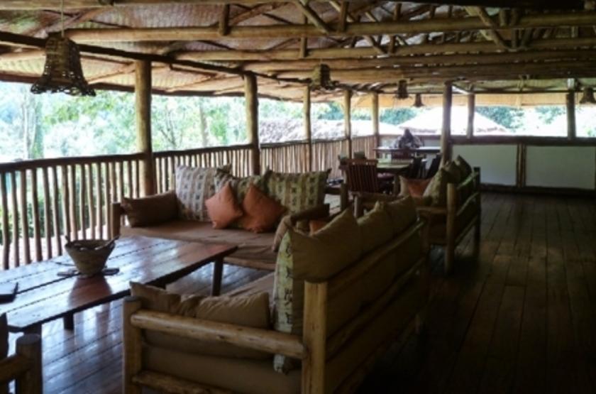 Buhoma Lodge, Bwindi, Ouganda, terrasse