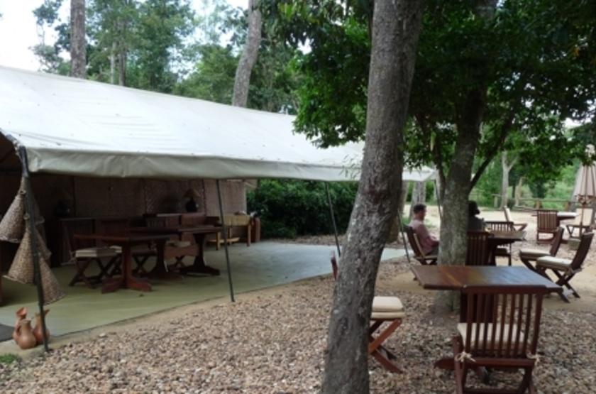 Ishasha Tented Camp, Ouganda, extérieur