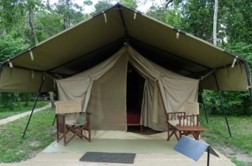 Ishasha Tented Camp, Ouganda