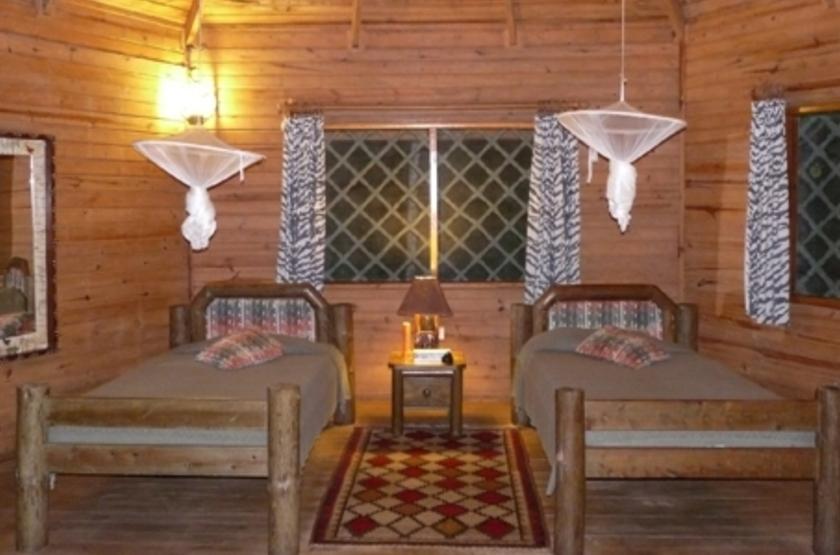 Jacana Safari Lodge, lac Nyamusingir, intérieur
