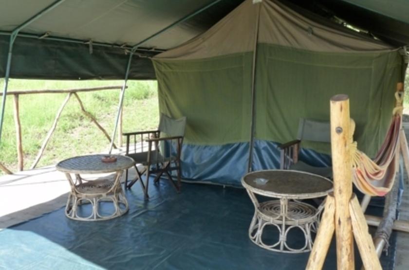 Mantana Tented Camp, lac Mburo, Ouganda, tente