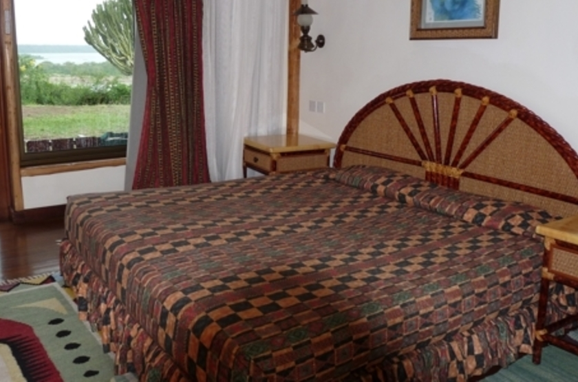Mweya Lodge, Queen Elisabeth Park, Ouganda, chambre