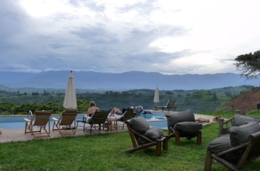 Ndali Lodge, Ouganda, piscine