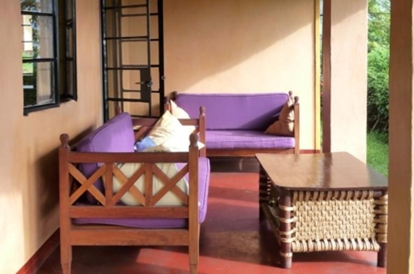 Ndali Lodge, Ouganda, terrasse