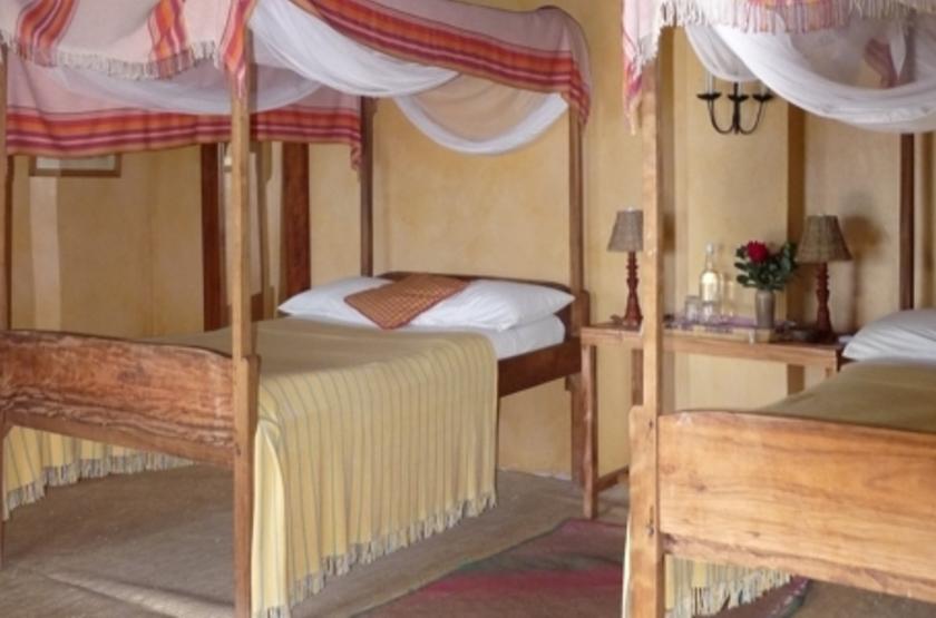 Ndali Lodge, Ouganda, chambre