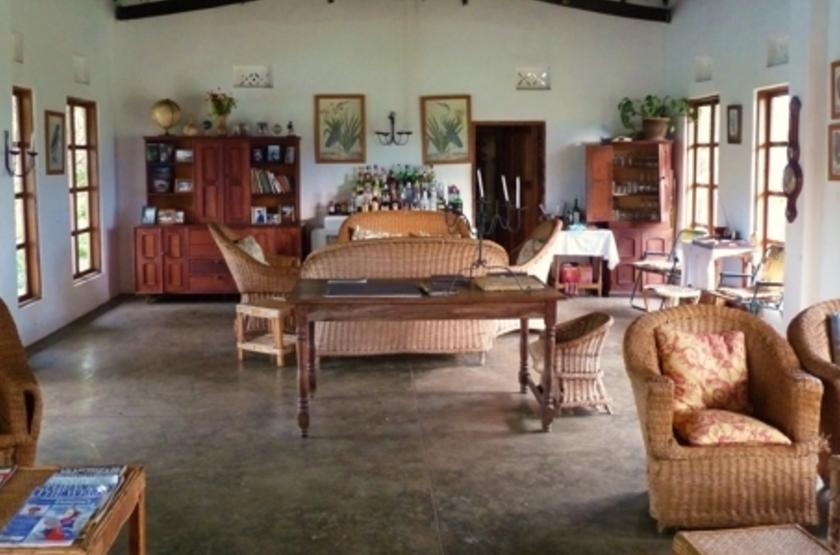 Ndali Lodge, Ouganda, salon
