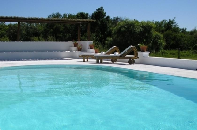 Posada La Laguna, Réserve de l'Ibera, Argentine, piscine
