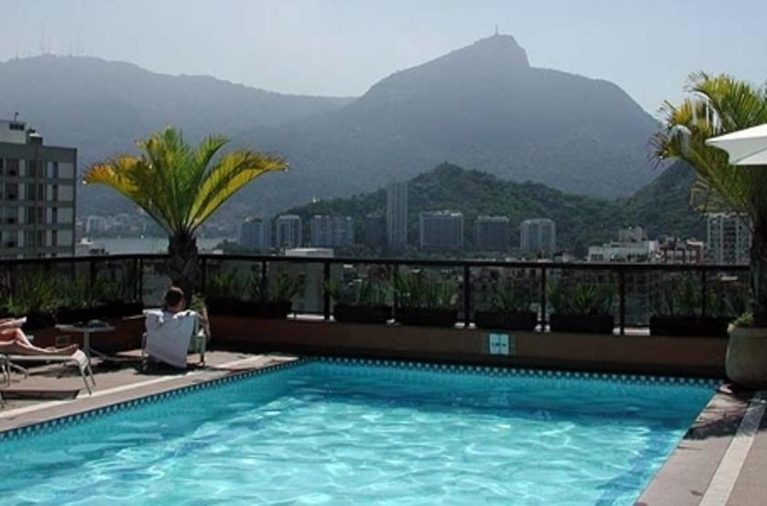 Golden Tulip Ipanema Plaza, Rio, Brésil, piscine