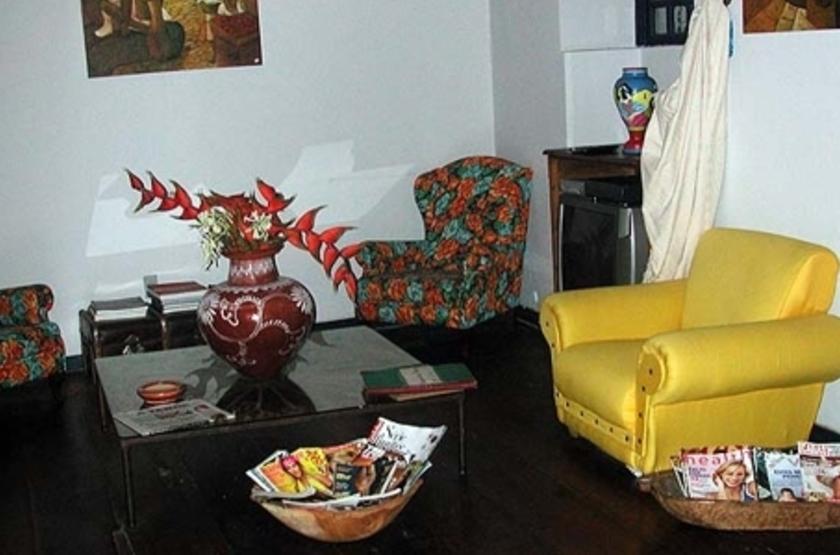 Pousada das Flores, Salvador, Brésil, salon