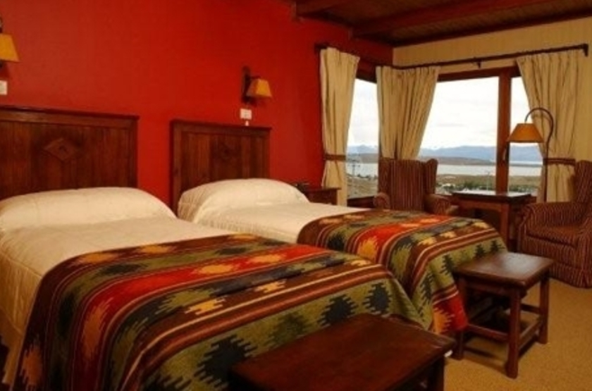 La Cantera Hôtel, Calafate, Argentine, chambre