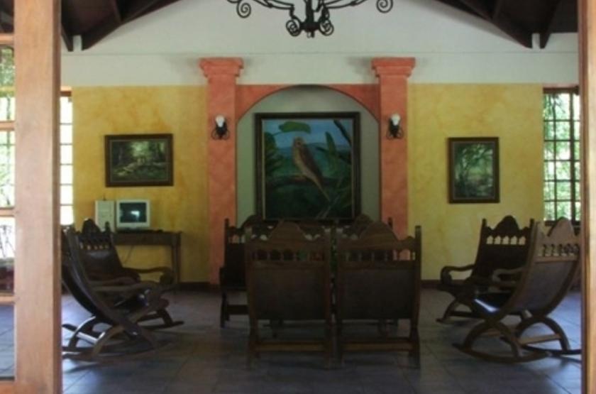 Borinquen Lodge, Rincon de la Vieja, Costa Rica, salon