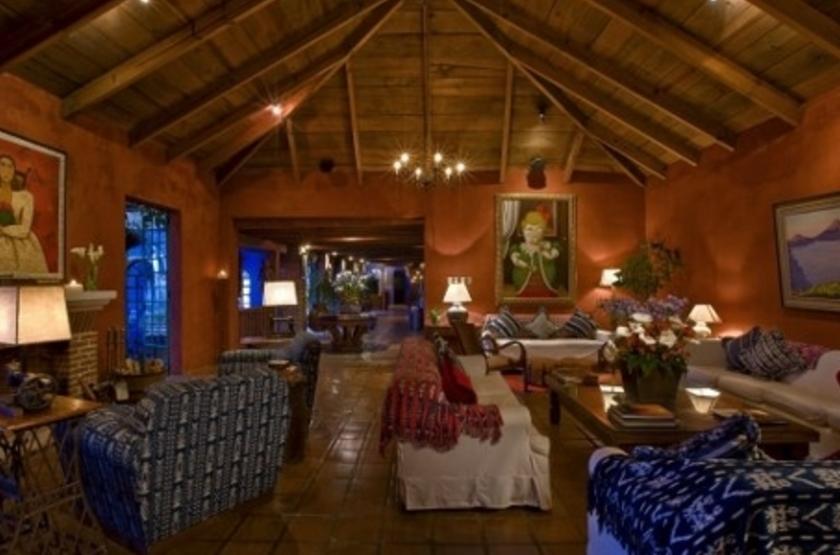 Casa Palopo, Atitlan, Guatemala, salon