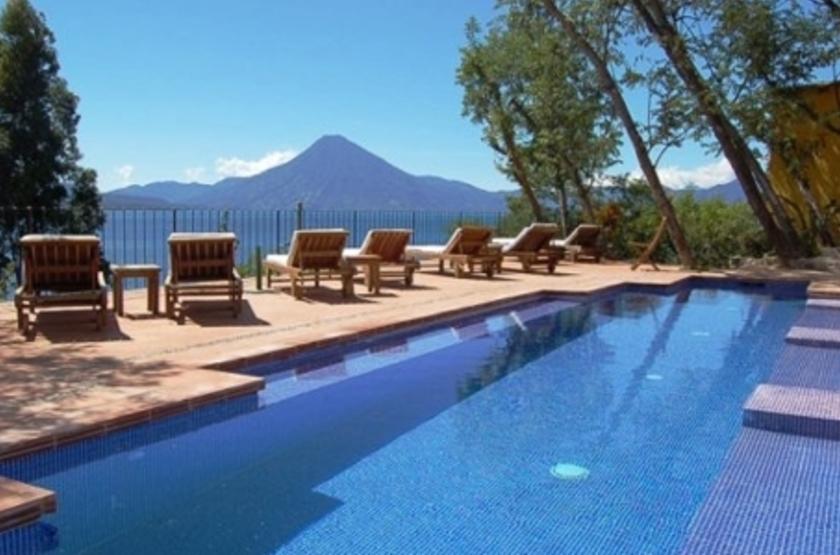 Casa Palopo, Atitlan, Guatemala, piscine