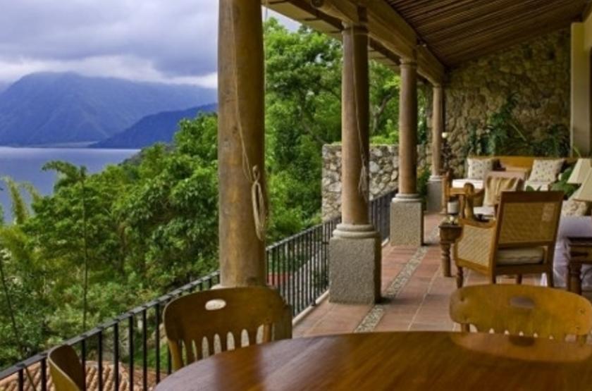 Casa Palopo, Atitlan, Guatemala, terrasse