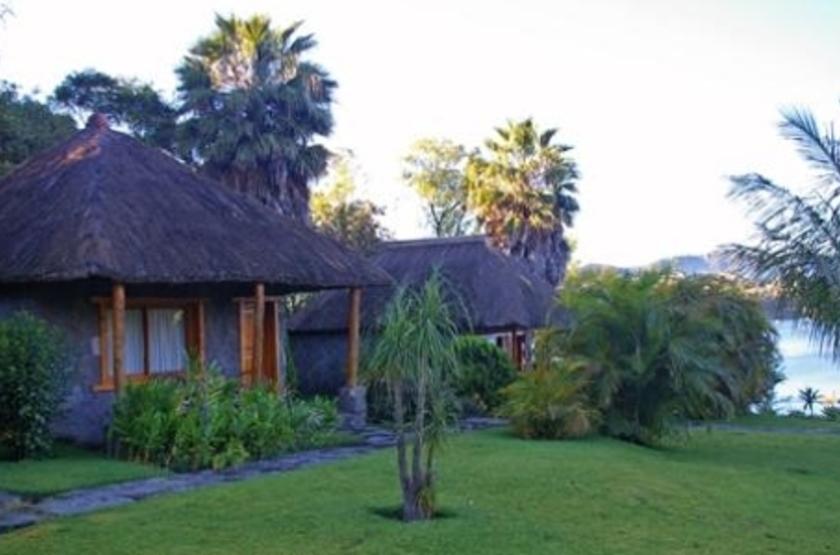 Hotel Bambu, lac Atitlan, Guatemala, bungalows