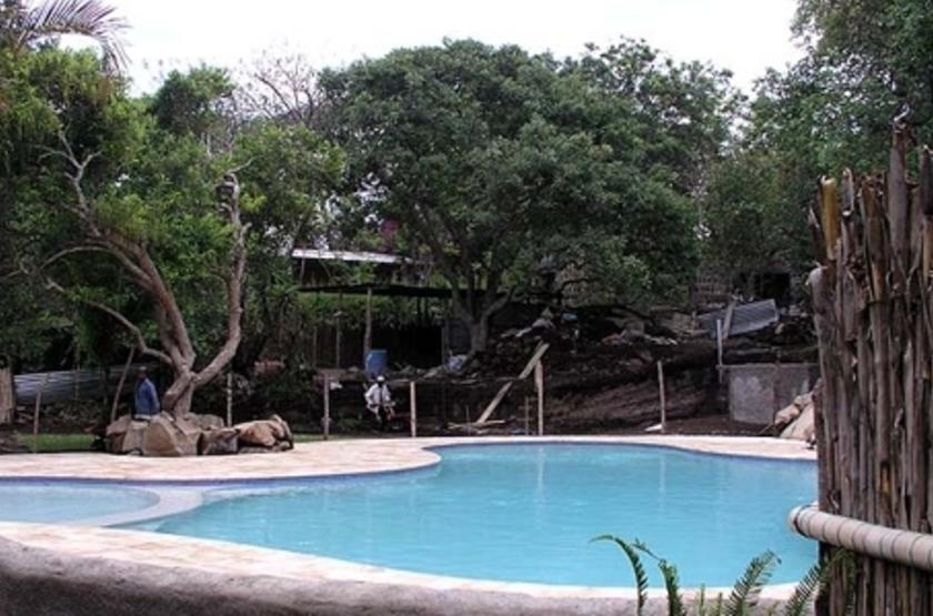 Hotel Bambu, lac Atitlan, Guatemala, piscine