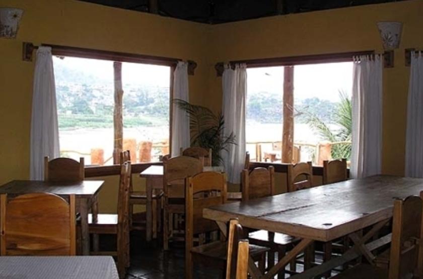 Hotel Bambu, lac Atitlan, Guatemala, restaurant