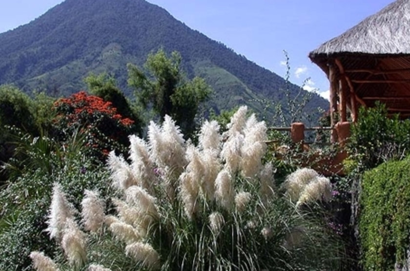 Hotel Bambu, lac Atitlan, Guatemala, extérieur