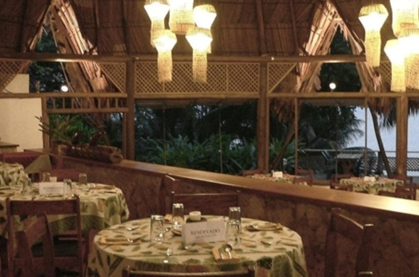 Hôtel Villa Caribe, Livingston, Guatemala, restaurant