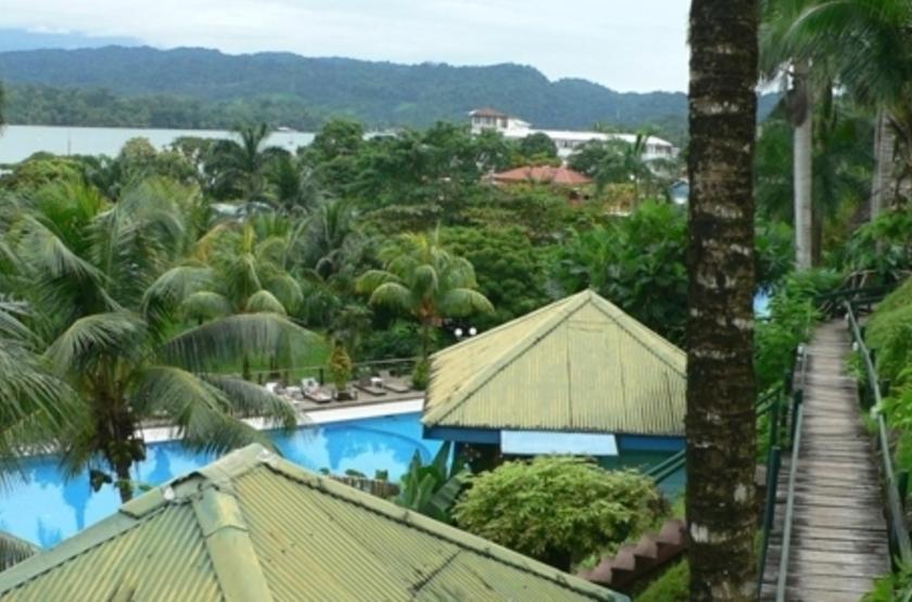 Hôtel Villa Caribe, Livingston, Guatemala, emplacement